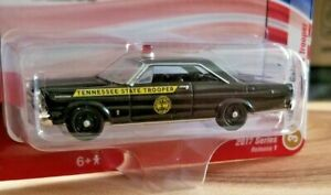Racing Champions Mint 1965 Ford Galaxie 1:64 Diecast Police Car VerC R1 #3
