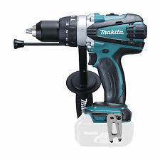 "MAKITA 18V LXT DHP458z 13mm 1/2"" Half Inch Full Metal Chuck Side Handle Depth Ro"