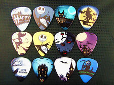 10pcs 1.0mm Two Side Musical Accessories Cartoon Hallowmas guitar picks
