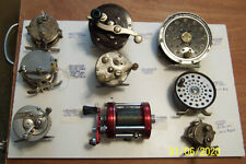 18 VINTAGE FISHING REELS ALL FOR ONE PRICE sale price of $450.00 + shipping