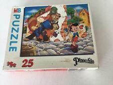PUZZLE PINOCCHIO, 25 pieces, hasbro 1994,24,5/19,4