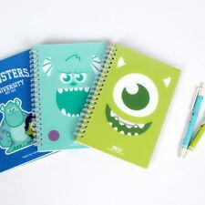 Disney Monster University Diary Notebook Paper Notepad Planner School Memo Study