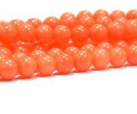 Natürliche Orange Koralle NATUR EDELSTEIN PERLEN RUND 5mm 20stk BEST  G110