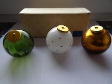Villeroy & Boch Christbaumschmuck Glas Kugel-Set  Perle di Luce NEU & OVP
