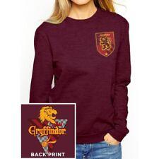 Harry Potter House Gryffindor Girls Sweatshirt Burgundy M