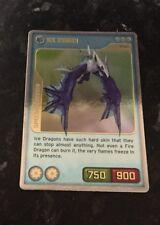 INVIZIMALS ICE DRAGON SPECIAL EDITION CARD X03