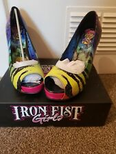 BNIB Iron Fist Zebracorn Shoes Size 8