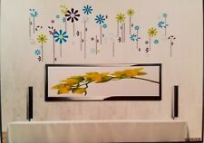 NEW Multicolor Flowers Removable Wall Sticker Home Room Decoration US. Seller