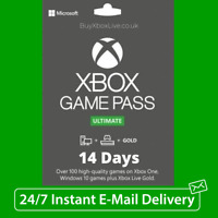 XBOX GAME PASS  ULTIMATE 14 DAYS (Xbox Live 14 Days GOLD + Game Pass) INSTANT