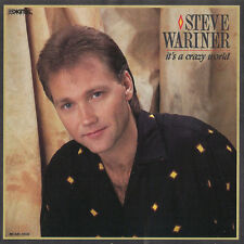 "12"" Steve Warner It`s A Crazy World (Lynda, Hey Alarm Clock) 80`s MCA"