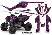 Yamaha Raptor350 AMR Racing Graphic Kit Wrap Quad Decals ATV All Years BFLY BLK