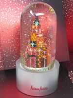 Neiman Marcus Stacked Presents 2018 Annual Snow Globe Collectible Rare, NIB
