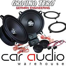 BMW 3 Series E46 GROUND ZERO 280 Watts Pair Component Front Door Car Speaker Kit