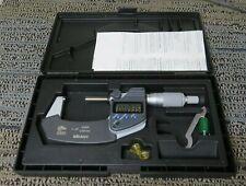 Mitutoyo 293 341 30 Digital Micrometer 1 2 With Case C34