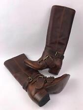 Sendra 8692 Debora Leather Knee High Boots in Evolution Tan Women's Size 6 - NEW