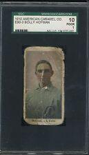 1910 E90-3 American Caramel - SollyHofman - SGC 10 Poor - Cubs