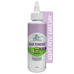 Four Paws Healthy Promise Pet Ear Powder 1 oz   Free Shipping