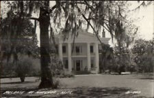 Natchez MS Melrose Mansion Real Photo Postcard
