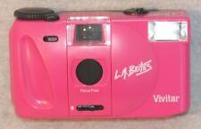 VIVITAR 35mm CAMERA LA BRITES Bright Pink BRAND NEW **FREE SHIPPING!!!**