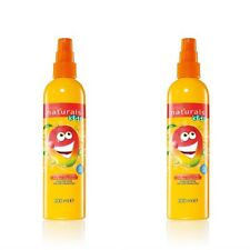 2 x Avon Naturals Kids Magnificent Mango Detangling Spray NEW + FREE BROCHURE