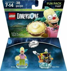 LEGO Dimensions Simpsons Krusty Clown Bike Fun Pack 71227 - Sealed - New