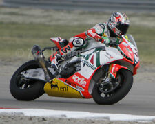 Max Biaggi 2010 World SBK Aprilia Miller USA 8x10 photo