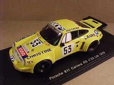 Spark 1/43 Resin Porsche 911 Carrera RS, '76 LeMans, Christine Laure, #53 #S2098