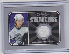 06-07 2006-07 O-PEE-CHEE ALEXANDER FROLOV SWATCHES JERSEY OPC S-AF KINGS