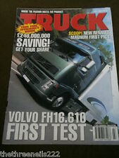 TRUCK - VOLVO F16.610 - JULY 2004