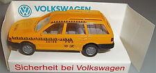 VW Passat Dummy Seguridad de Volkswagen Vehículo Publicitario a Escala Wiking 1: