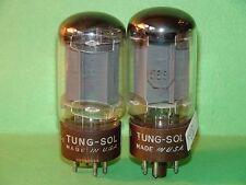 2 Tung Sol 5881 Vacuum Tubes 4200 . 4700