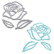 Rose Flower Cutting Dies Stencil DIY Embossing Scrapbooking Album Paper Card New