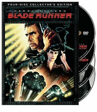 BLADE RUNNER : THE COMPLETE COLLECTOR'S EDITION 4-DISC-SET NEW SEALED DVD OOP