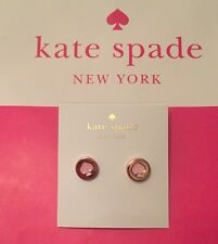 NWT Kate Spade New York Spot The Spade Pink Studs  Earrings Retails $28