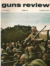 GUNS REVIEW September 1970 - Volley Carbines, Colt Commando, Shooting, Hunting