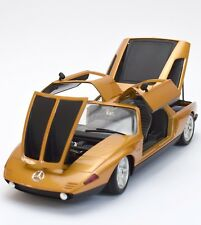 Guiloy 67501 Mercedes Benz C111 Sportwagen Bj. 1969 in gold, OVP, 1:18, K023