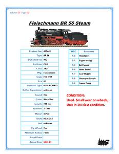 Fleischmann DCC 415601 SOUND HO Steam Loco