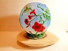 Glowing Led Hibiscus Garden Globe