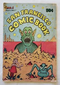 San Francisco Comic Book #1 1970 First Printing R. Crumb & Various Artists