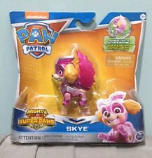 NICKELODEON PAW PATROL MIGHTY PUPS SUPER PAWS SKYE ACTION FIGURE NEW