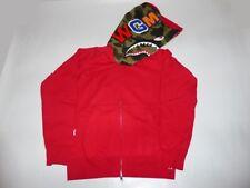 14910 bape shark hoody red XL