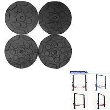 4pcs Heavy Duty Round Rubber Car Post Lift Arm Pads Disk Workshop Accessories