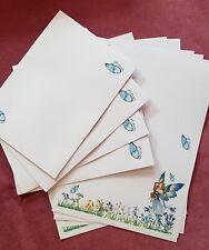 Bluebells & Butterflies Flower Loving Fairy Writing Set With Envelopes