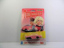 MATCHBOX THUNDERBIRDS LADY PENELOPE'S ROLLS ROYCE FAB1 MINT STILL SEALED