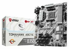 MSI AMD Ryzen B350 TOMAHAWK ARCTIC AM4 DDR4 USB 3.0 HDMI Crossfire ATX Mobo