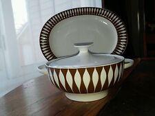 Mid Century Modern Eames Era Wirkkala Thomas Rosenthal Covered Bowl and Platter