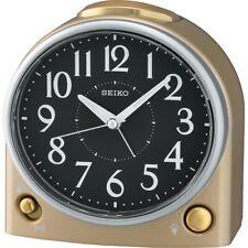 Seiko Clock QHK053 Standing Bedside Alarm 12.8cm