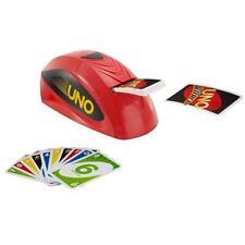 Mattel UNO Extreme Kartenspiel Kinderspiel Gesellschaftsspiel Kartenwerfer Spaß