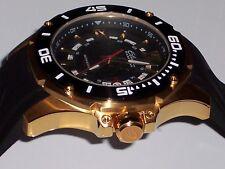 Elini Barokas 10196-YG-01-BB Men's Artisan Gold Textured Dial Watch