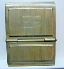 Antique Double Pocket Match Safe made by Colgate & Co. N.Y. U.S.A.